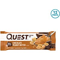 Deals on 12CT Quest Nutrition Chocolate Peanut Butter Protein Bar