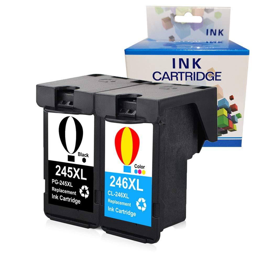 Cartucho Alternativo Canon 245XL 246XL 2 Un. A1INK
