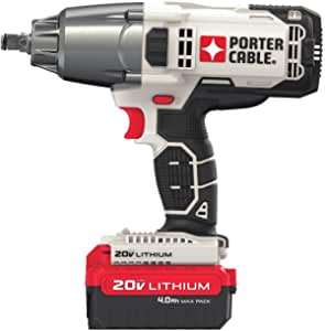 PORTER-CABLE 20V MAX Impact Wrench, 1/2-Inch (PCC740LA)