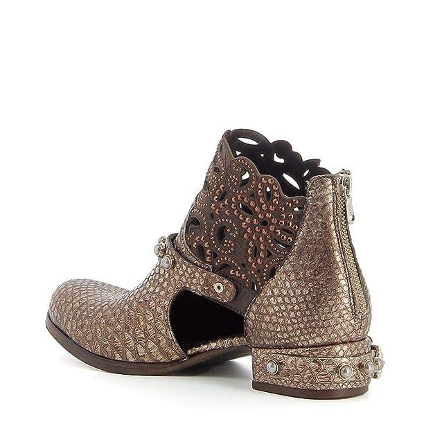 5bf426d6a4d35 MIMMU - Low-Boots ajourées en Cuir  Amazon.fr  Chaussures et Sacs