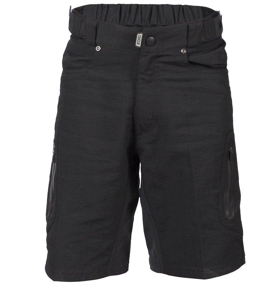 ZOIC Boy's Ether Jr. Shorts, Black, X-Large by Zoic (Image #3)