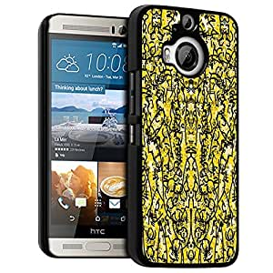 ACCESS-DISCOUNT-FUNDA ORIGINAL CON TAPA PARA HTC ONE, M9 PLUS-PSYCHE COLOR AMARILLO