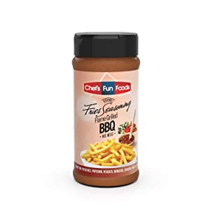 Gourmet Fries Seasonings Bottle, Flame Grilled BBQ, 9 Ounce