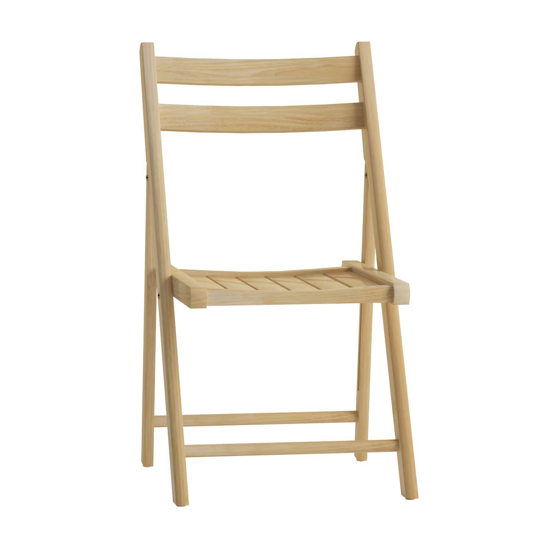 Amazon Winsome Wood Folding Chairs Natural Finish Set of 4