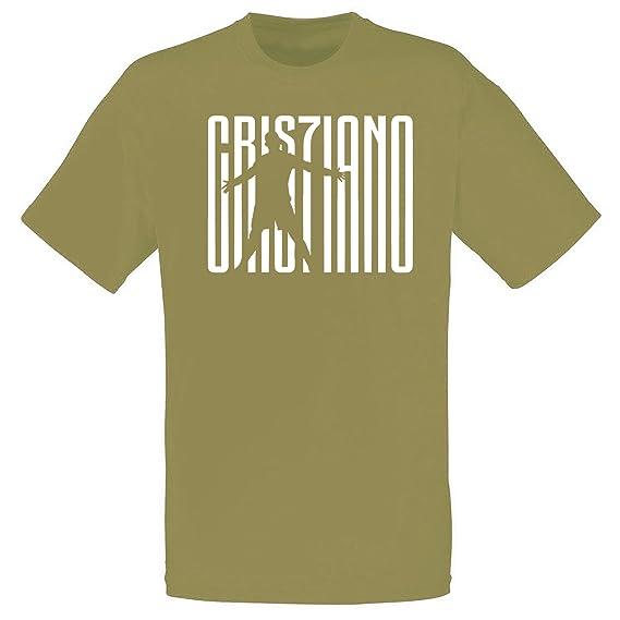 T-shirt Maglia Personalizzata Juventus JUVE CR7 Cristiano Ronaldo Uomo