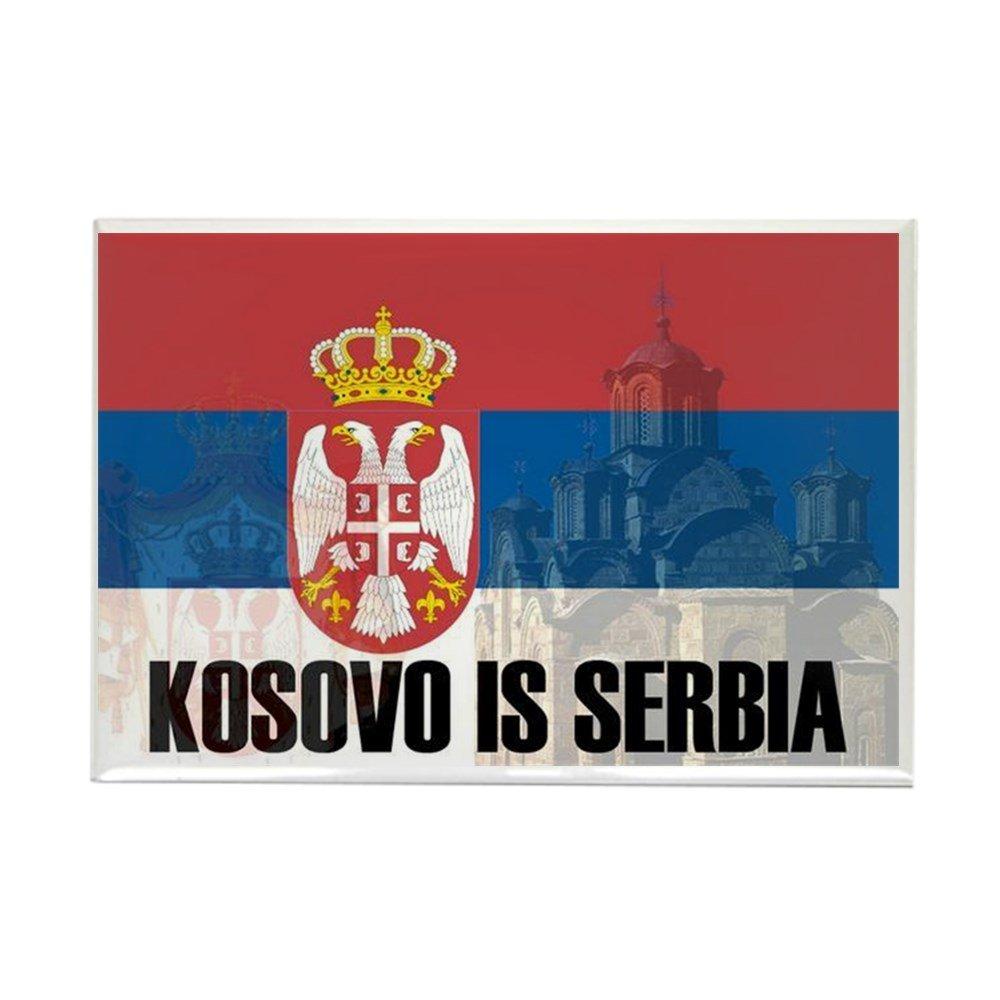 CafePress – Kosovoはセルビアマグネット – 長方形マグネット、2