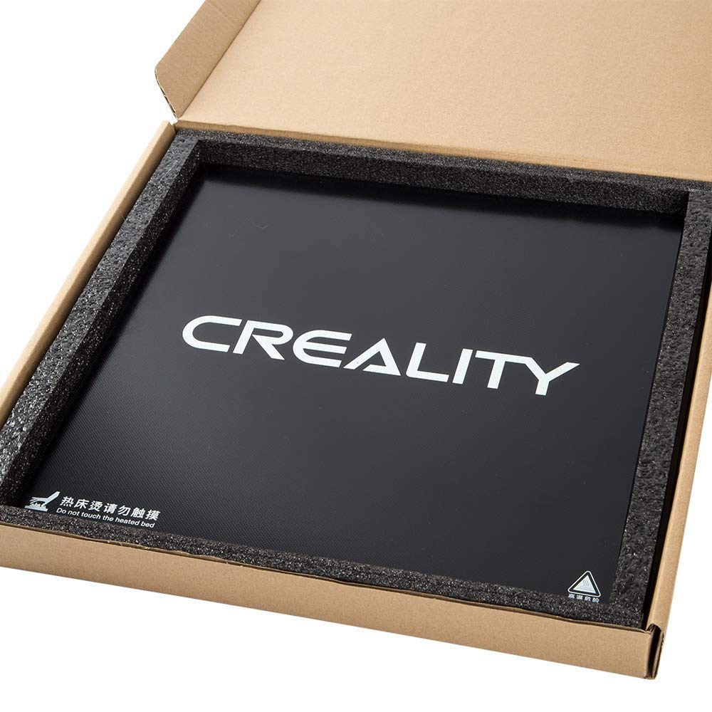 Creality original 3D Ender 3 Cristal templado Estructura de ...