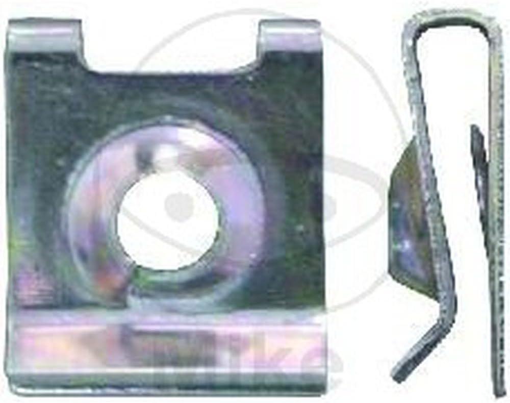 JMP Blechmutter Stahl 4.2mm Packung 10 St/ück 4043981159295