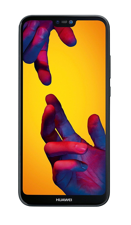 """Huawei P20 Lite 5.84 """"solo SIM 4G 4GB 64GB 3000mAh Negro - Los teléfonos inteligentes (14.8 cm (5.84""""), GB 64, 16 MP, Android, Oreo + EMUI 8.0 8.0, Negro)"""