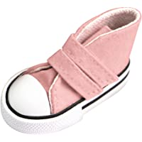 Baosity Pink Lace Up High Top Canvas Sneaker Shoelace Shoes for 1/3 BJD AOD SD Dolls