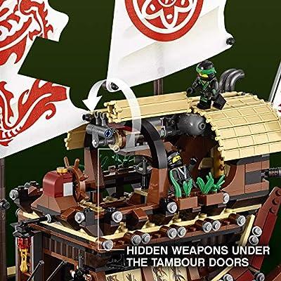 LEGO Ninjago Movie Destiny's Bounty 70618 (2295 Piece): Toys & Games