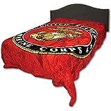 Marine Corps Queen Size Blanket