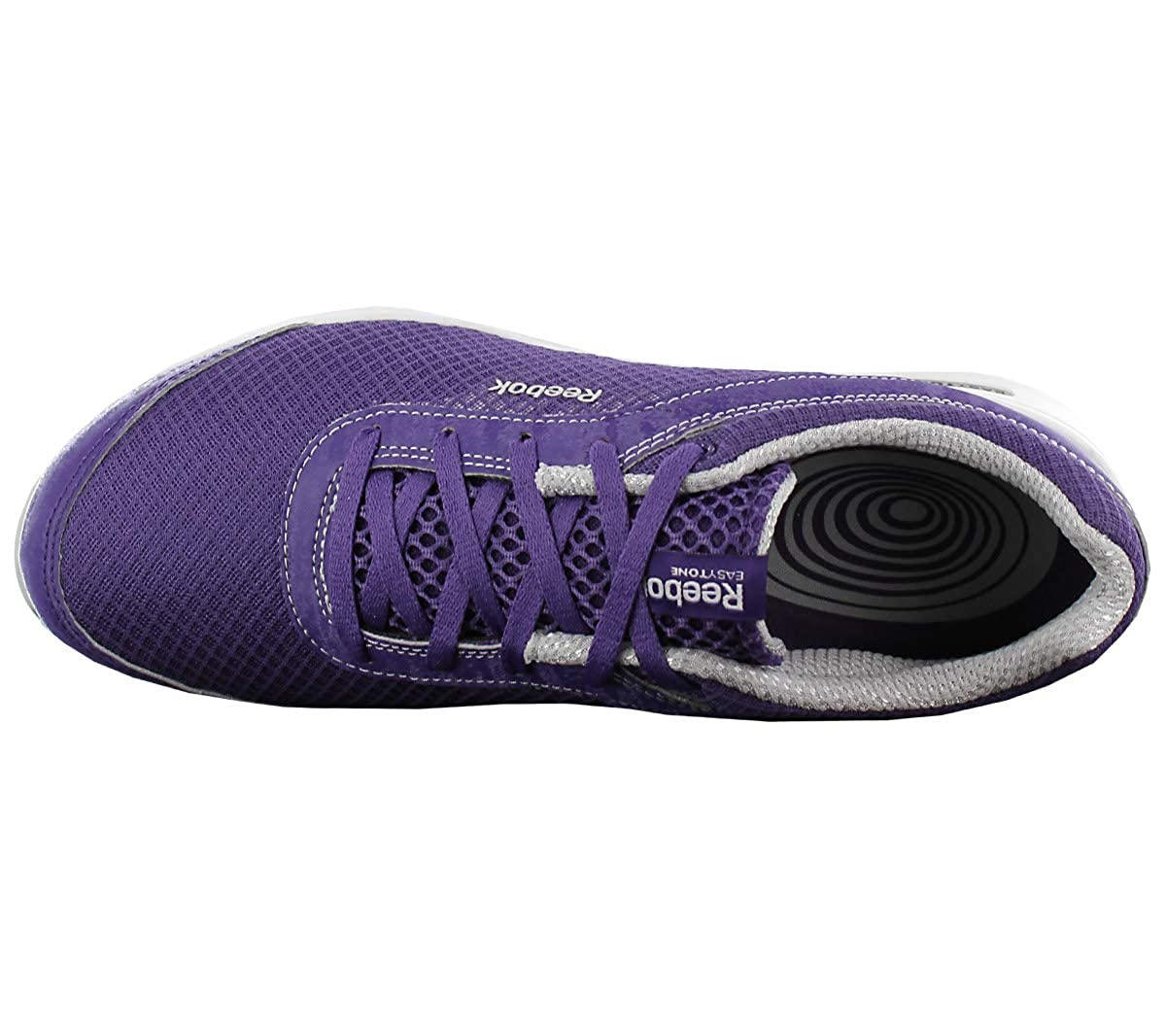 e32e5a8e20d Reebok Easytone Reenew IV Footwear Violet Womens Trainers Sneaker Shoes   Amazon.co.uk  Shoes   Bags