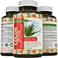 Colon Detox Supplement - Best Formula - Helps Eliminate Toxins (highest potency), Pharmaceutical Grade Quality - Weight Loss, Cleanse & Health Benefits for Women and Men - Supports Real Energy Levels an Digestive Health - Safe, Gentle and Effective - by C