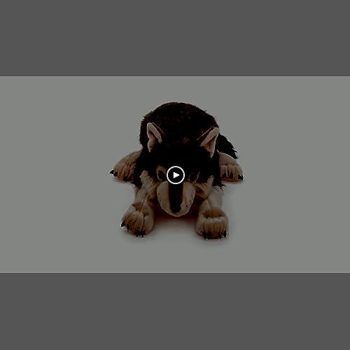 Wild Republic Jumbo Wolf Plush Giant Stuffed Animal Plush Toy