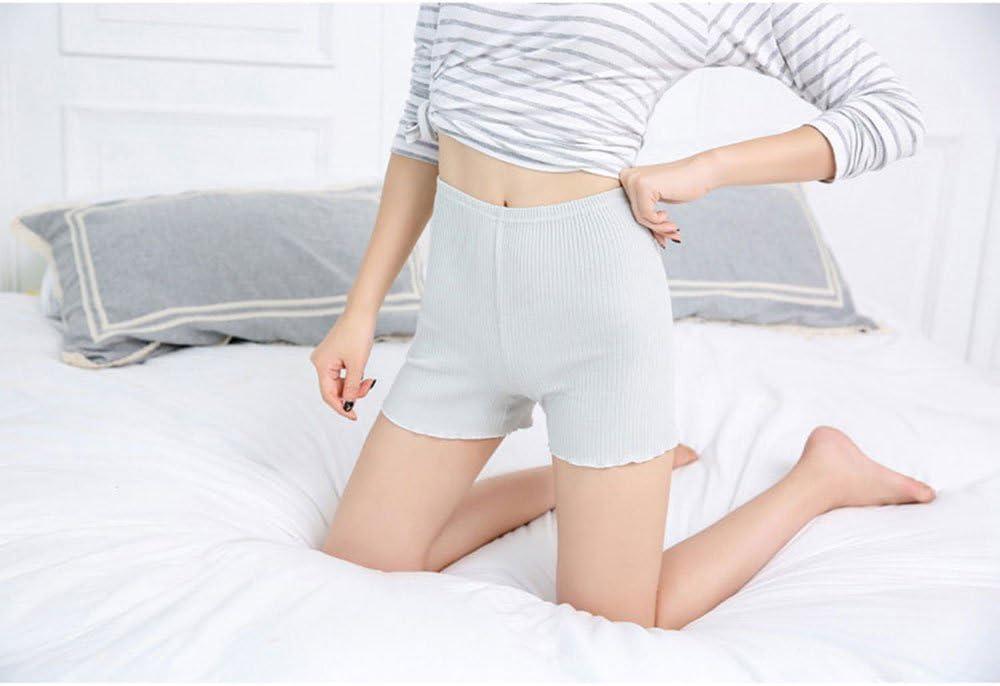 Hoverwin Short bajo de Ropa Mujer – Boxer Corto para Mujer algodón – Leggings Cortos elástico Talla, Verano – Transpirable, Suave y Stretch, Talla S – XXL, Gris, XXL: Amazon.es: Hogar