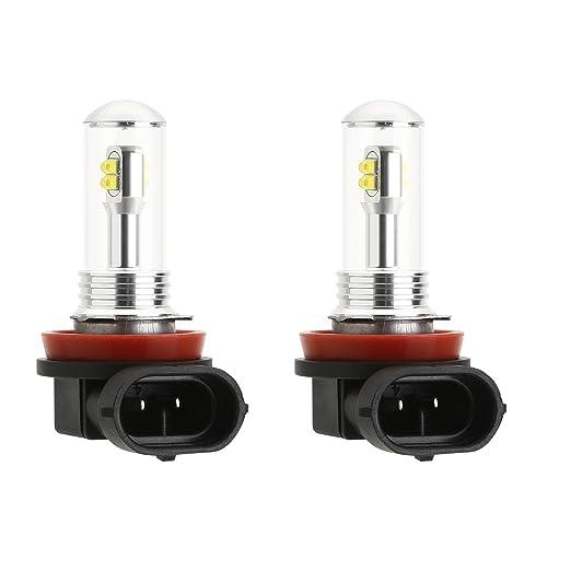 6 opinioni per CICMOD LED CREE XBD H11 H8 8SMD Lampadina Fendinebbia Super Luminiso DRL Lampada