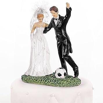 Hochzeitstortenfiguren Fussball 14 Cm Tortenfiguren Hochzeit