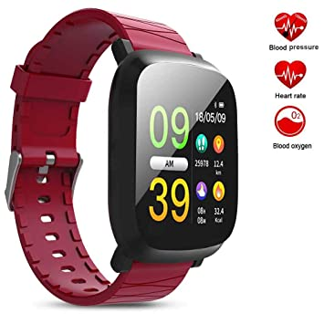 Amazon.com: Fitness Smartwatch for iPhone Xs Max FuriGer ...