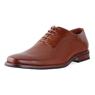0bb2b3cc Ferro Aldo Mens Lalo Oxford Dress Shoes   Comfortable Dress Shoes   Formal    Lace-