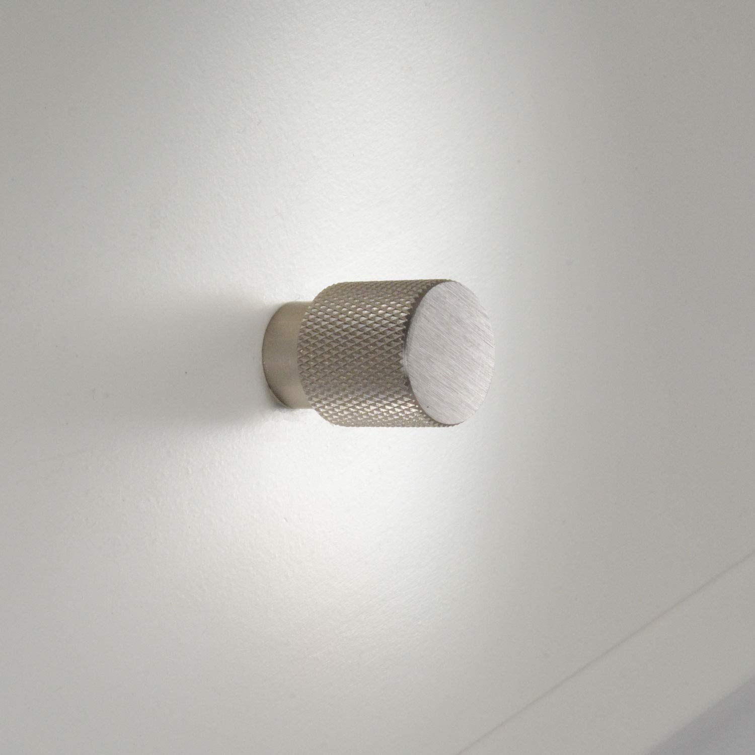 #6500 CKP Brand Linear Aluminum 3/4 in. (20mm) Knurled Knob, Brushed Nickel - 25 Pack by CKP (Image #4)