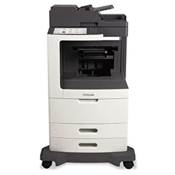 Amazon.com: MX810de Multifunction Laser Printer, Copia/Fax ...