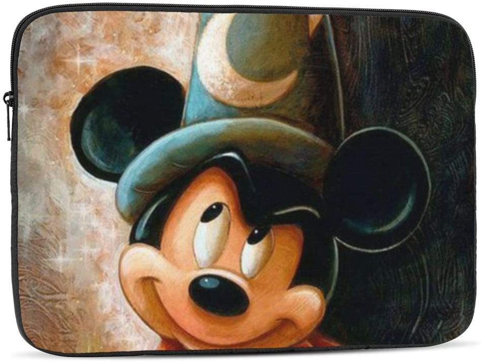 Laptop Sleeve Case Multi Size Paint Mickey Mouse Notebook Computer Protective Bag Tablet Briefcase Carrying Bag,10 Inch