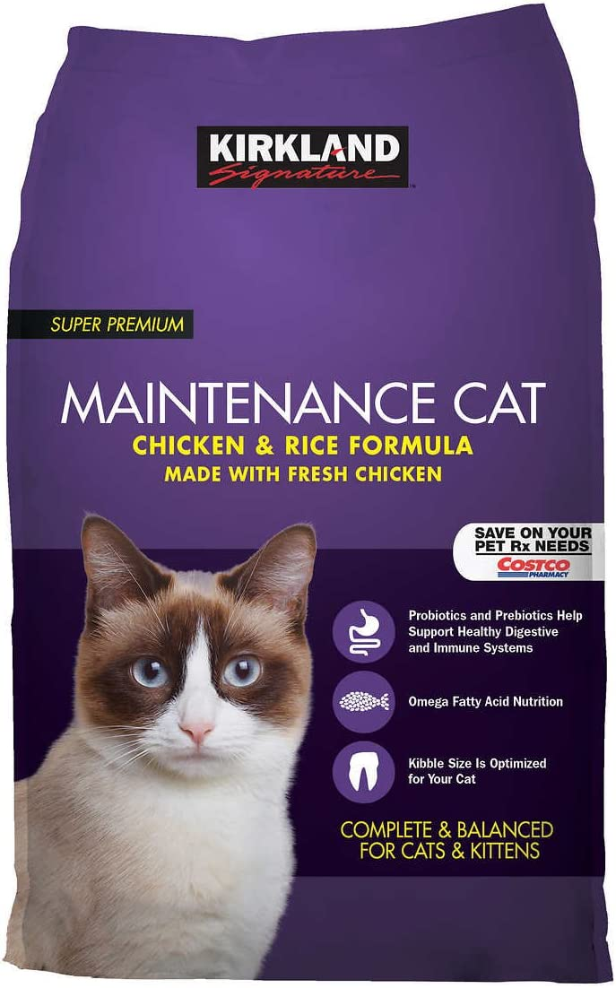 9. Kirkland Signature Dry Cat Food