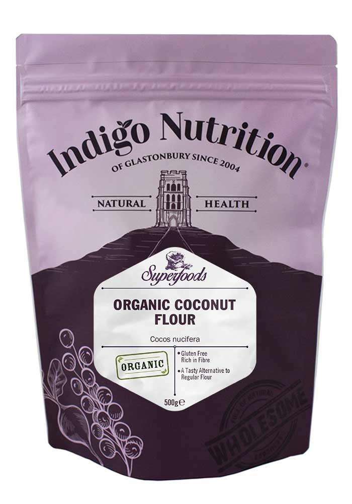 Harina de Coco Orgánico - 500g (Orgánico Certificado ...