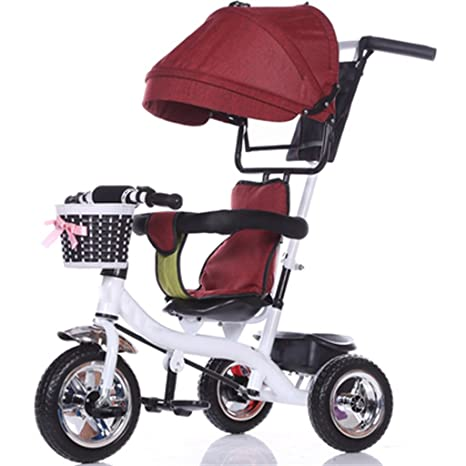 Bicicleta para niños Niño de interior al aire libre Pequeño triciclo de la bicicleta Niño de