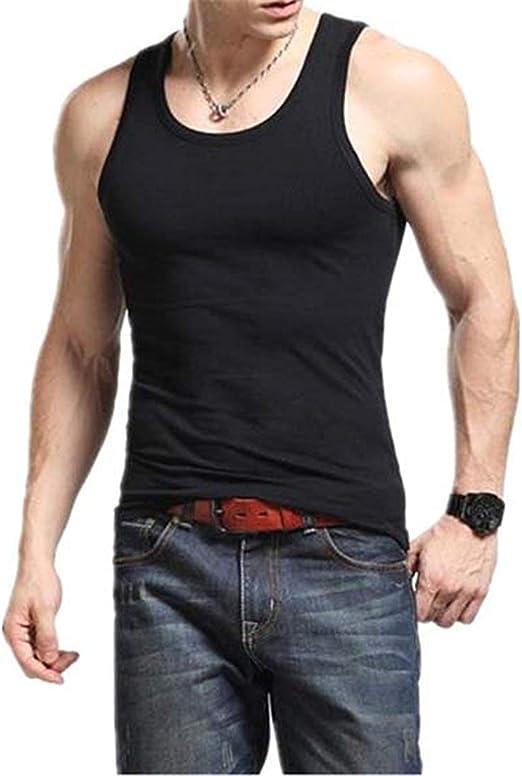 BIRAN-5 Tops De Los Hombres Camisas Mangas Algodón Hombres ...