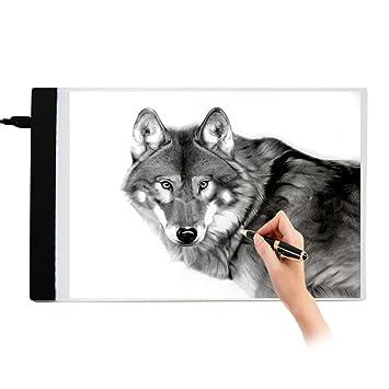 A4 Led Leuchttisch Leuchtkasten Zeichenbretter Zeichnen Tracing