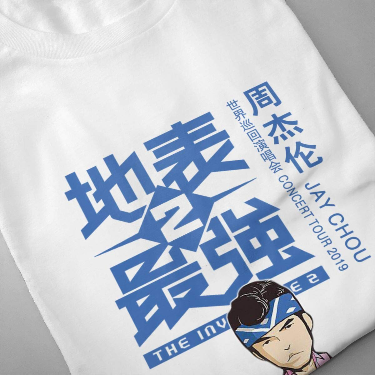 Amazon.com: ILLUSORY Jay CHOU Concert Tour 2019 O - Camiseta ...