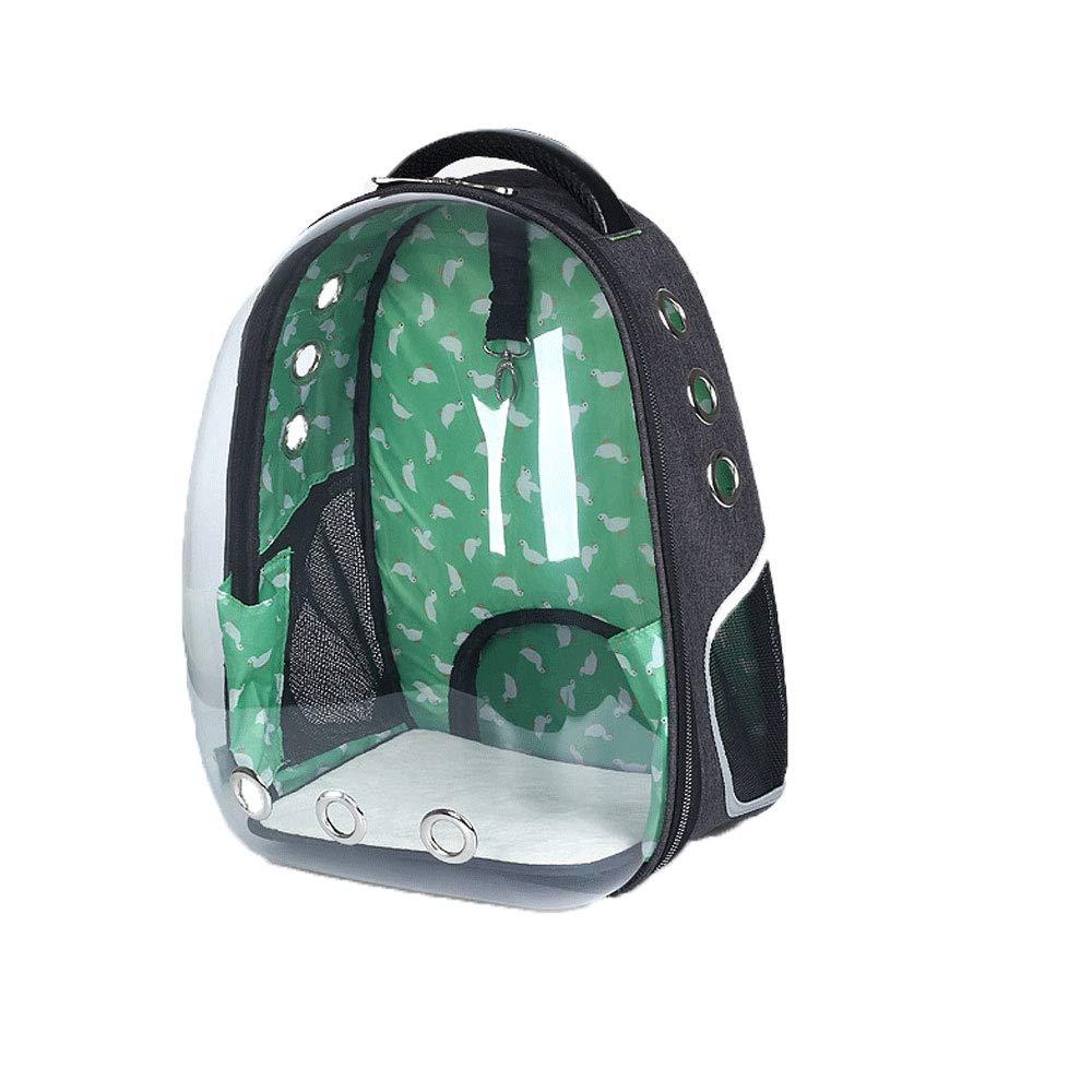 HONGNA Panoramic Transparent Space Pet Backpack Dog And Cat Portable Backpack Travel Bag Pet Supplies