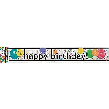 Banner Feliz cumpleaños Banner cumpleaños película 3,65m