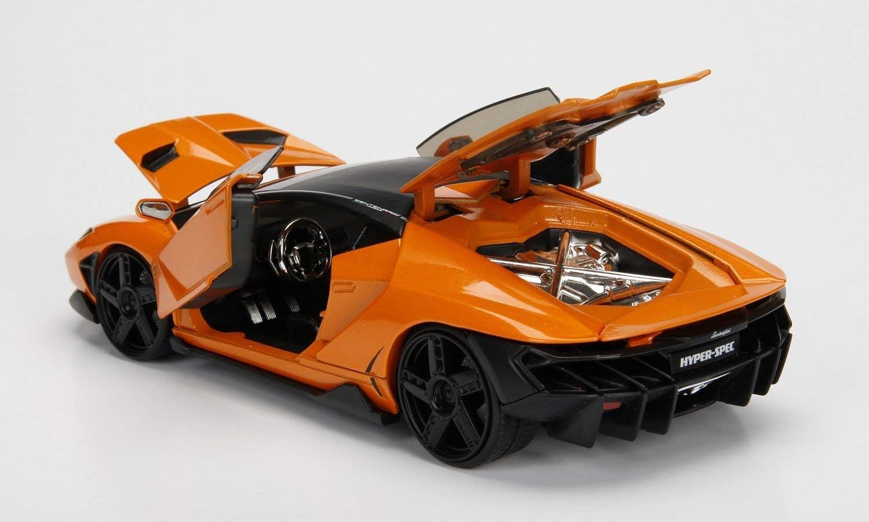 Lamborghini Centenario Hyper-Spec Orange 1:24 Jada Toys 99363