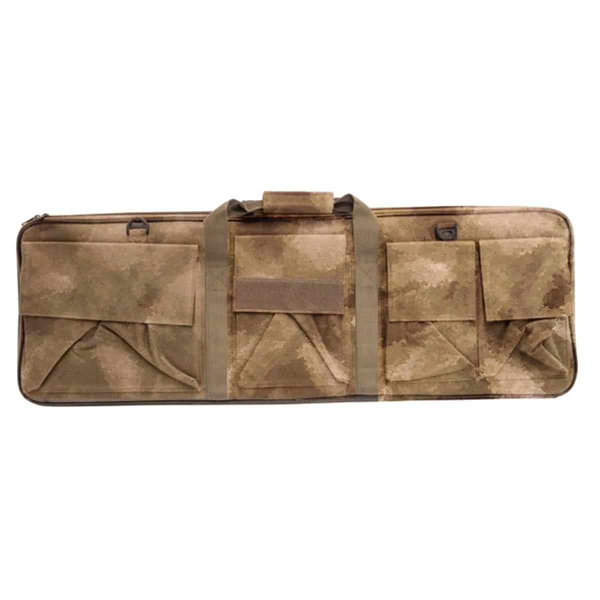 Funda maleta bolsa porta armas Camuflaje A-TACS verde 88cm Soft Air Area Shopping