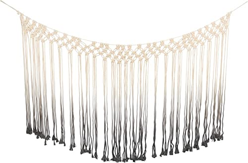 Primitives by Kathy Macrame Curtain Dip-Dye Gray Home Decor