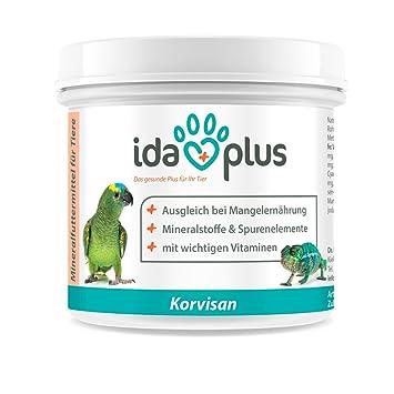 AniPlus korvisan 150 g Producto natural para Ornamentales Pájaros, palomas, Pájaros, onda loros