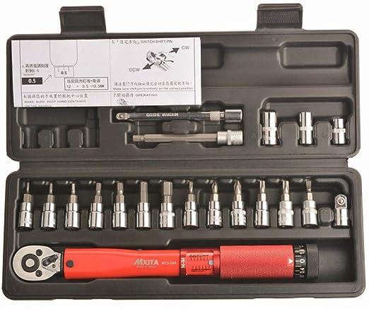 Torque Wrench Bike Set Allen Key Tool Socket Set Kit Bicycle Ratcheting Venzo