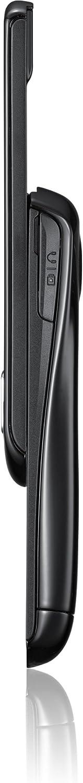 Samsung E2550 Handy Social Networking Dienste, Kamera, MP3-Player strong-black