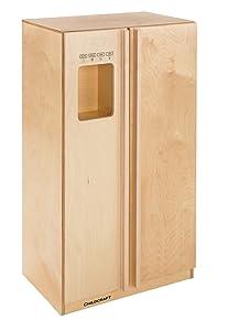 Childcraft Modern Kitchen Refrigerator, 23-3/4 x 16-3/4 x 42 Inches