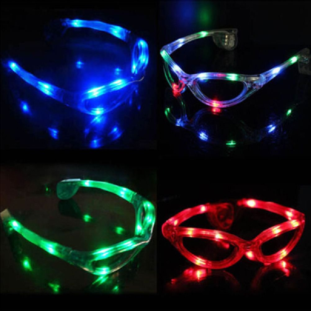 JaneDream Hot Led Glasses Flashing Eyeglasses Outdoor Party Light Up Bar Club Holiday by JaneDream 3yo8R