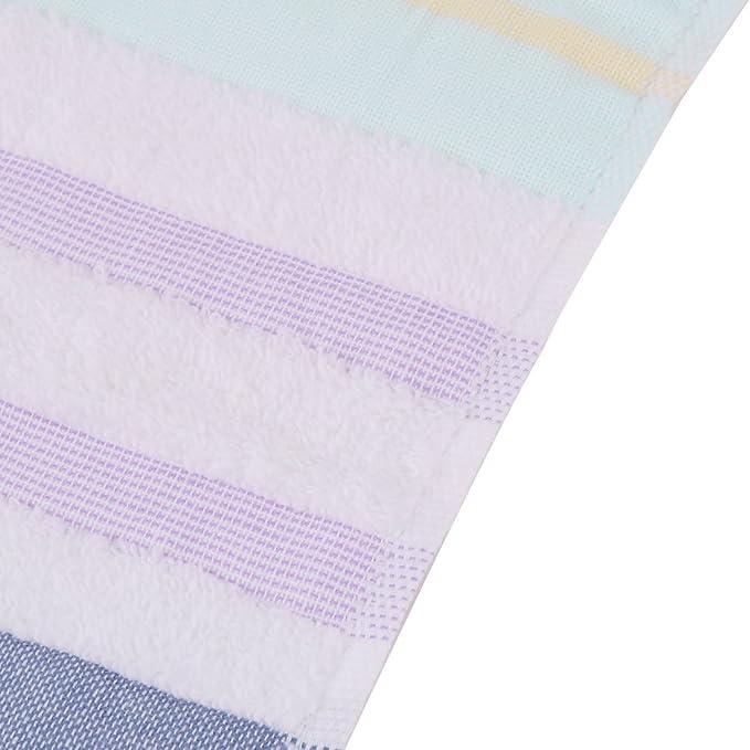 Amazon.com: eDealMax KUTTO autorizado Mezclas del algodón patrón de Rayas toalla de Playa Baño Ducha Bañera: Home & Kitchen