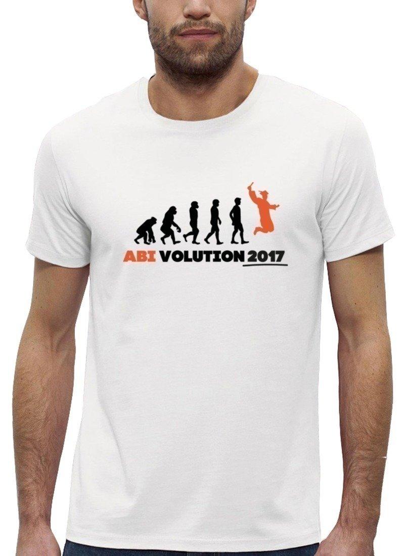 Abschluss Abitur Premium Herren T-Shirt Bio Baumwolle Abi Evolution 2017 Stanley  Stella: Amazon.de: Bekleidung