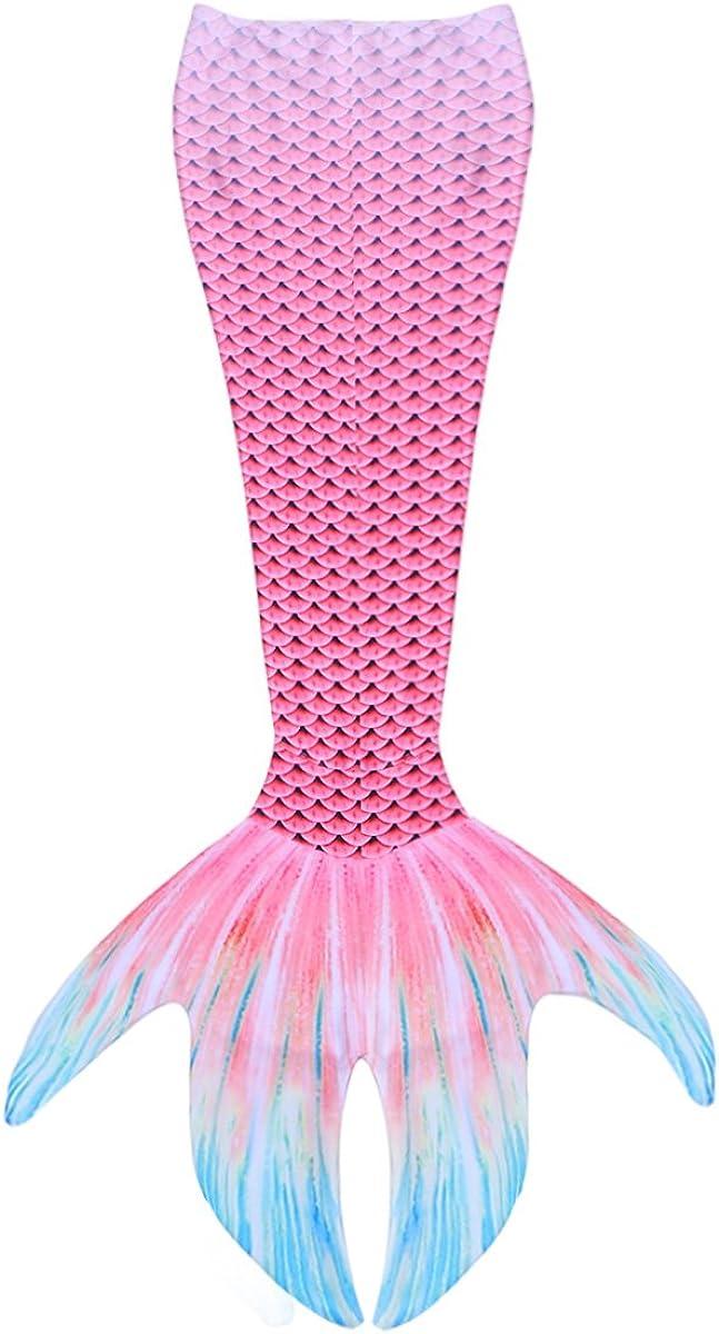 Alvivi Adulte Femmes Queue de Sir/ène pour Natation Maillot de Bain Mermaid Tail Femme Fille Cosplay Costume Sir/ène V/êtement de Plage Swimwear S-XL