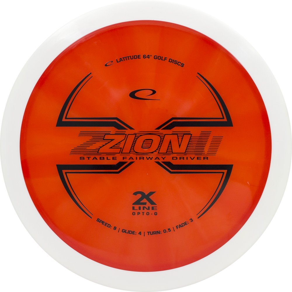 Latitude 64 2 K Line opto-g Zionフェアウェイウッドドライバーゴルフディスク[ Colors May Vary ] B077G81XPG  173-176g