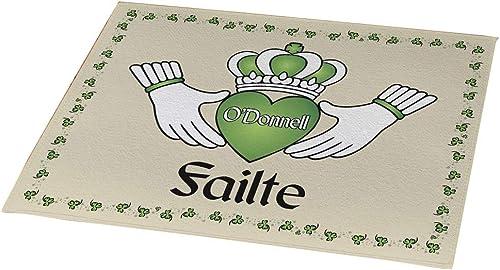 GiftsForYouNow Failte Irish Personalized Doormat, 18 x 24 , Indoor Outdoor