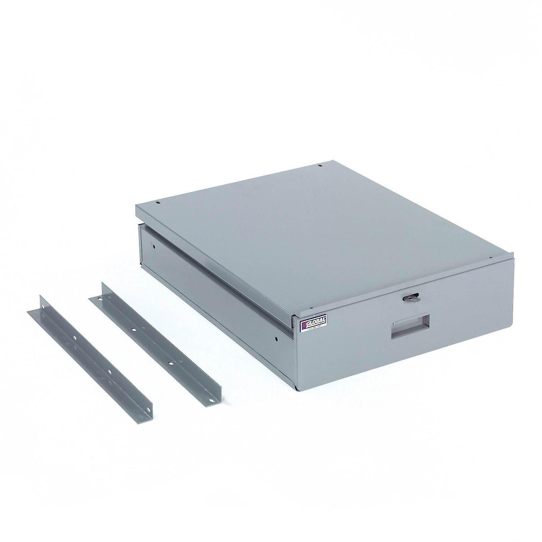Standard Workbench Drawer, Gray, 5-3/8''H