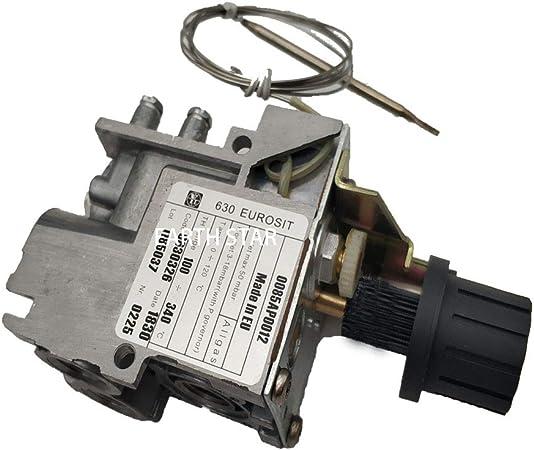 LJ MENSI - Válvula de Control de termostato de Repuesto para freidora de Gas Modelo 630 minisit 100-340 Grados LPG: Amazon.es: Hogar